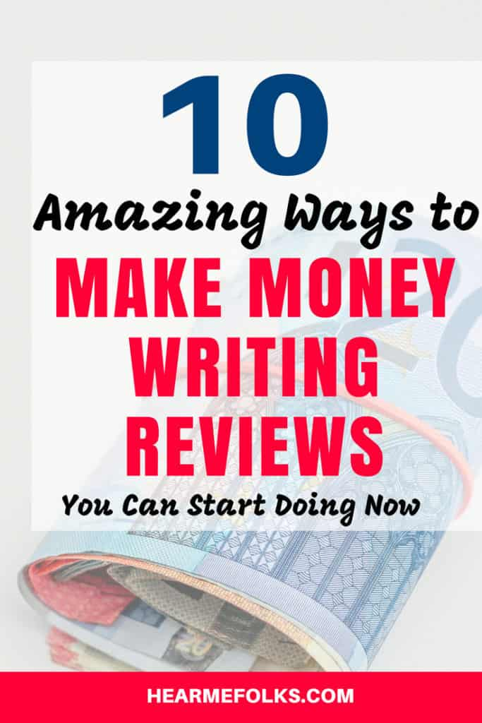 Want to make money online writing reviews. Here is my cool list of 10 websites that pay you with cash and free stuff. by writing reviews for various products and getting paid for it.