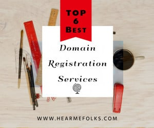 top 6 domain name registrar services