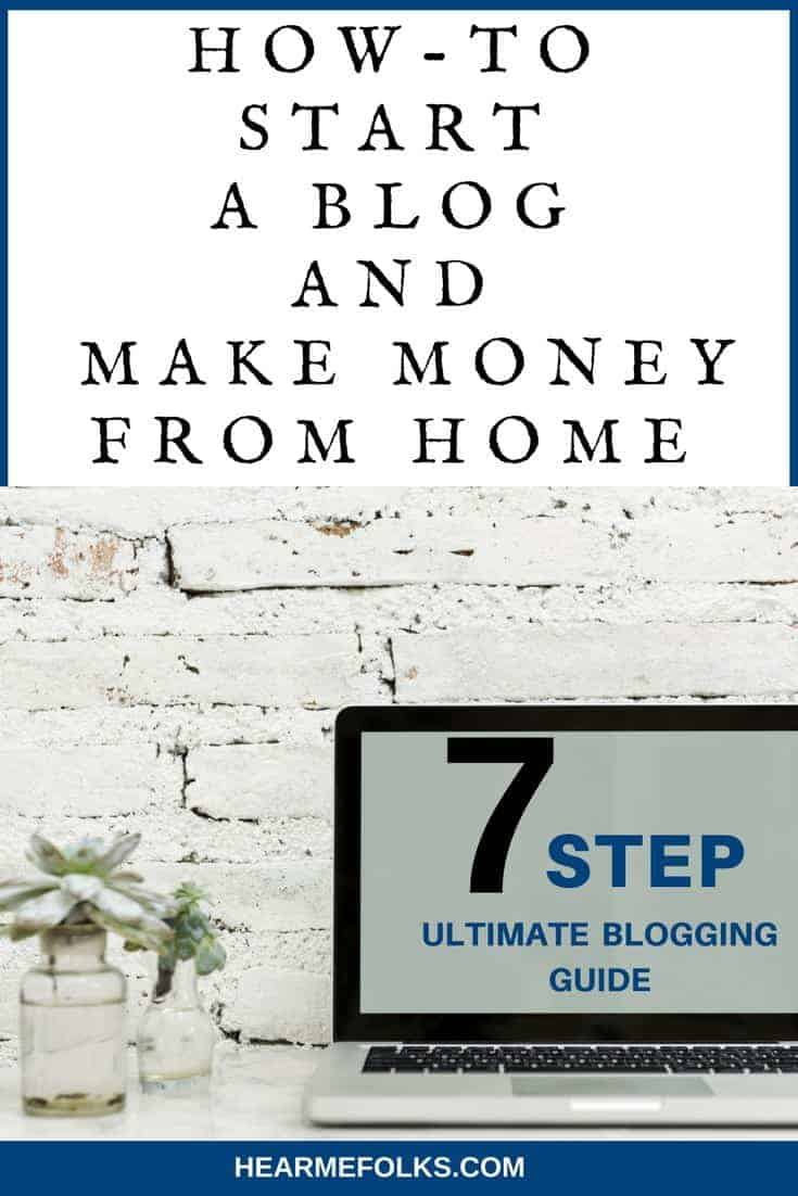 how to start a blog and make money from money, complete ste-by-step beginner guide
