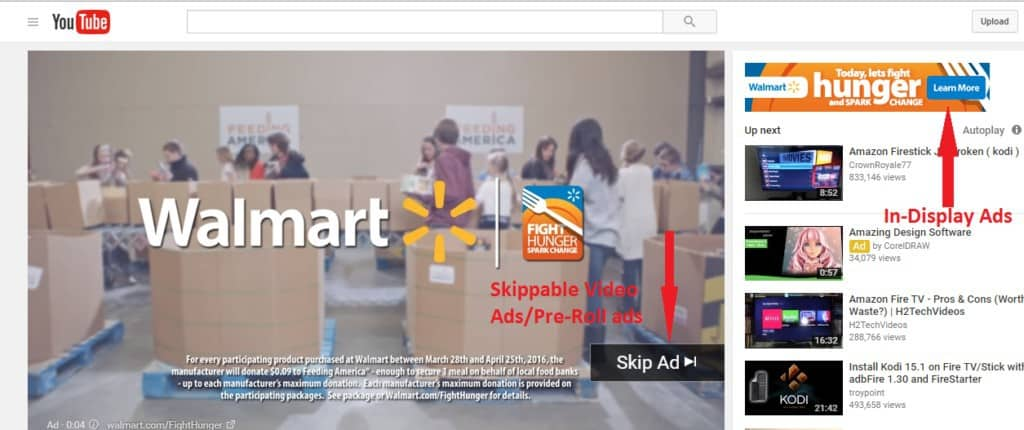 example of trueview ads/skippable ads for youtube advertising
