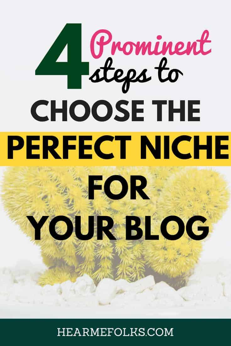 how to choose the perfect niche for your blog and make money