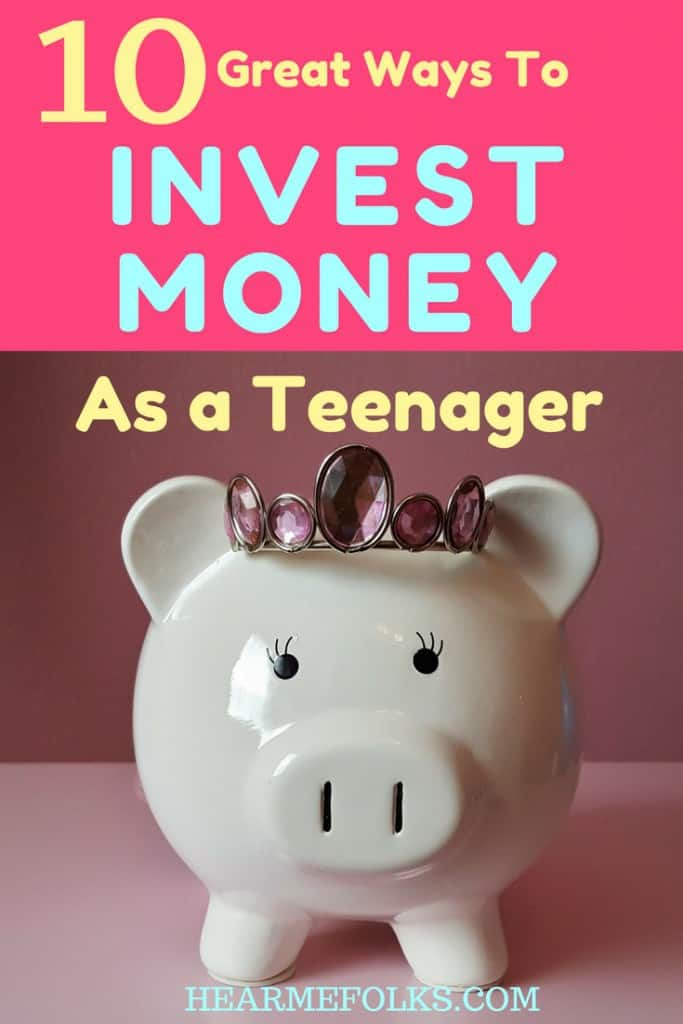 how to start investing as a teenager. 10 great investing options for teenagers that include the best way to start investing with little money