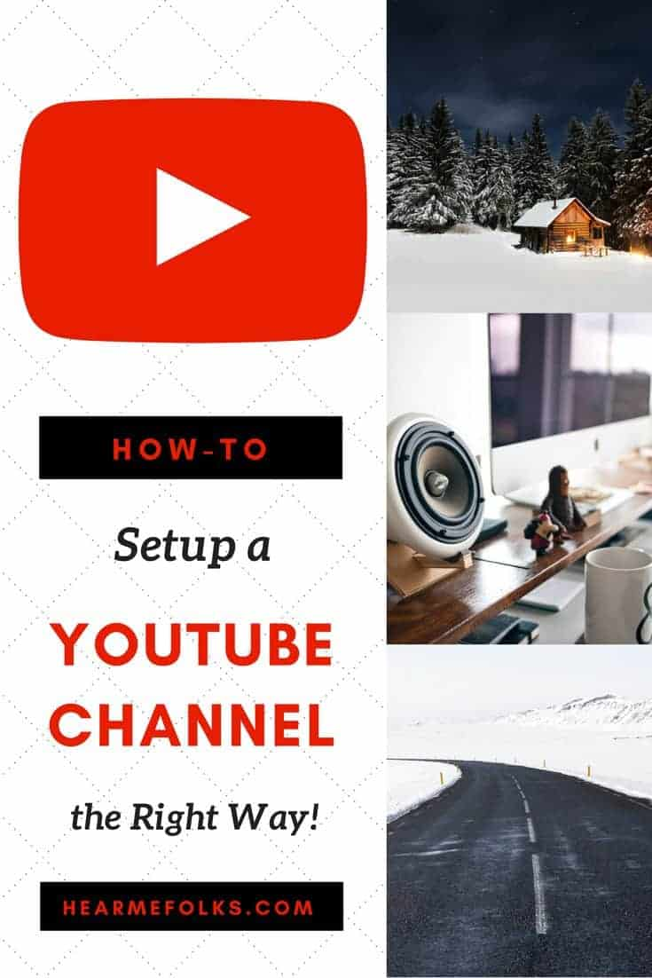 how to start a youtube channel the right way with no budget
