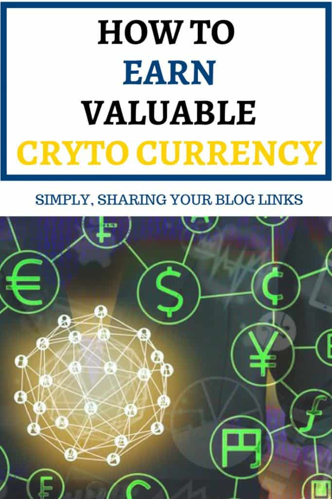 how to earn crytocurrency from your blog