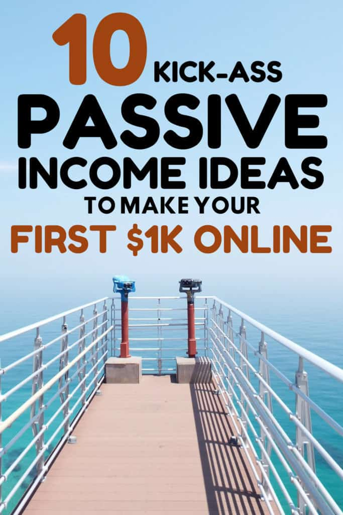 Notable Passive Income Ideas To Make Money Staying at Home #passiveincomeideas