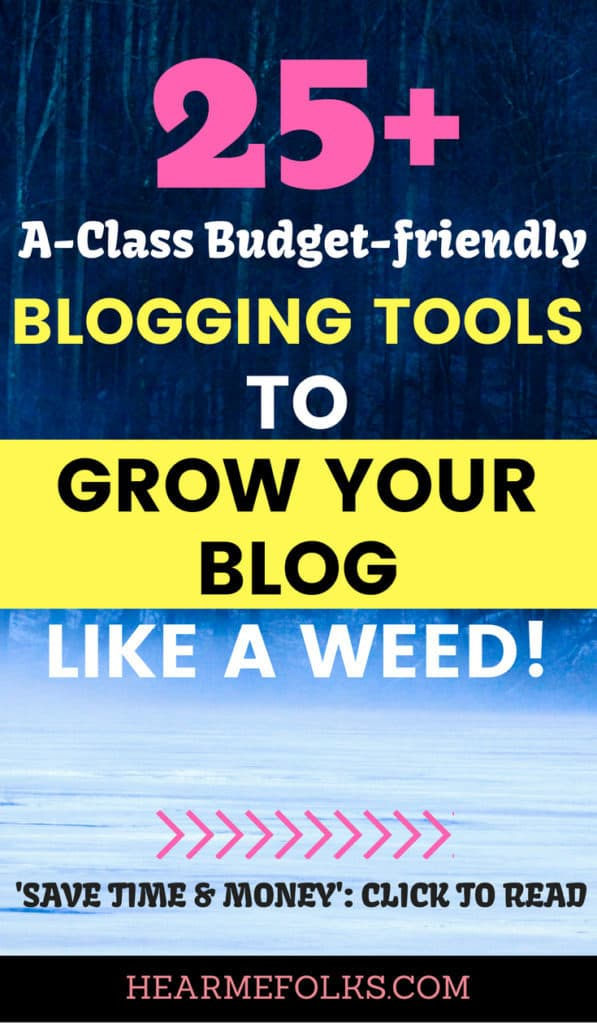 best BLOGGING TOOLS for beginners TO SAVE MONEY AND MAKE MONEY BLOGGING staying at home